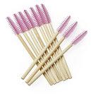 Bamboe-Mascara-borsteltjes-Roze-(25-stuks)
