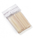 BB Spatulas Dual Ended Wood Stick_