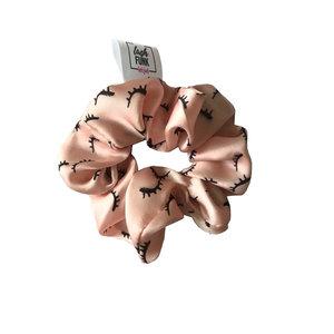 Lash scrunchie pink