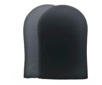Tan handschoen zwart