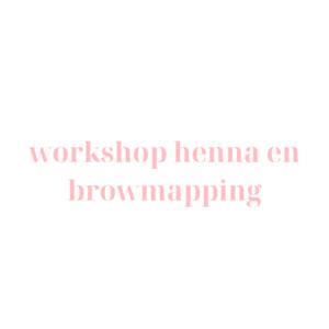 Workshop Henna en Browmapping