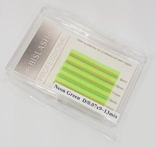 Bis Neon Lashes D 0.07 mix in div. kleuren