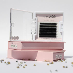 Femme Fatale – Luxury Silk Lashes Sample Tray CC
